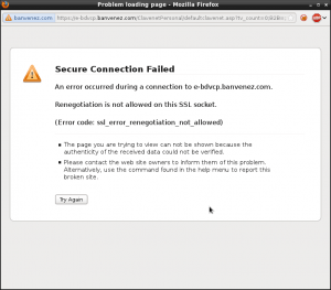 (Error code: ssl_error_renegotiation_not_allowed)