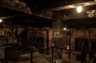 Ugnar där mördade fångar kremerades
