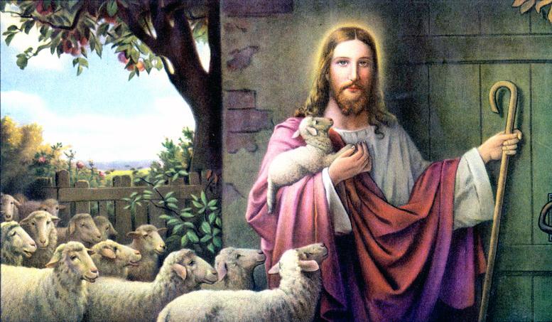 """The Good Shepherd"" by Josef Untersberger"