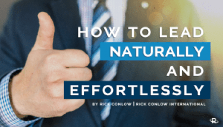 How to Lead Naturally and Effortlessly in the Zone