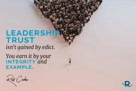Leadership Trust: 8 Keys to Build Credibility