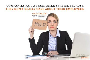 Everybody is a Customer Service Provider