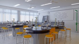 Albert Sabin School (science lab)