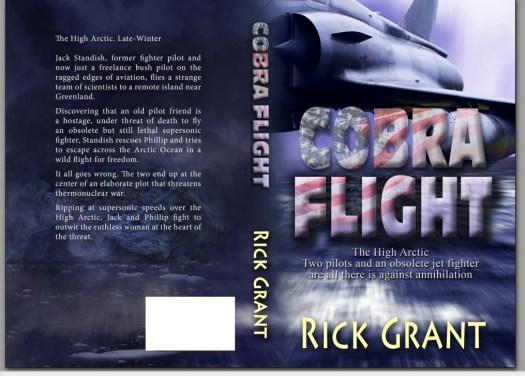 Cobra paperback Book Cover