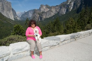 Percy and Sylvia checking out Yosemite Valley 6/2/2012