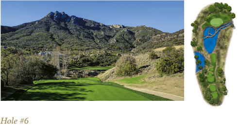 The Sixth hole at Sherwood Country Club