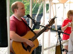 Rick Lee James Leading Worship Music in Fairmont West Virginia