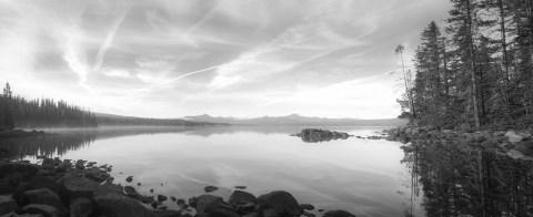 Waldo Lake panorama