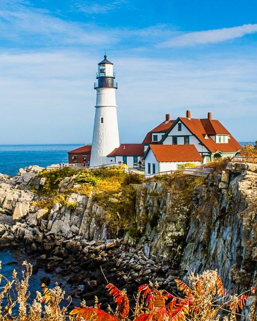 "Portland, Maine. ""Superb Composition"" Peer Award on international website ViewBug."