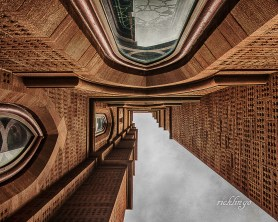 "Cathedral of Saint John the Baptist, Charleston, South Carolina. ""Judge's Commendation"" in the Look Up Challenge on the website Photocrowd. Winner of 9 Peer Awards on international website ViewBug."