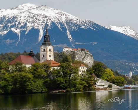 Lake Bled, Slovenia.
