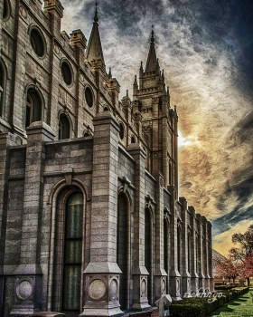 """Salt Lake City, Utah. 5th place in """"Buildings and Architecture"""" on international website Pixoto."""