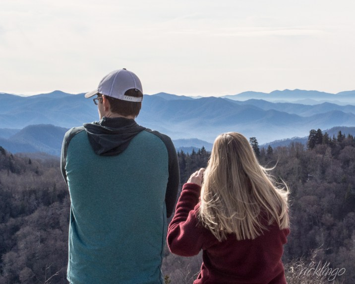 From Newfound Gap, Smoky Mountain National Park.