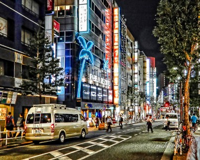 """Tokyo, Japan. 7th place for the day in """"City, Street, and Parks"""" on international website Pixoto."""