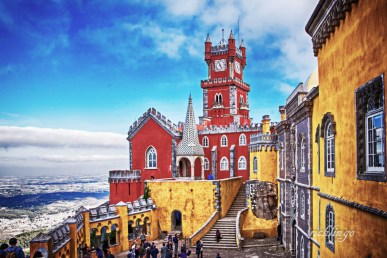 """Sintra, Portugal. 4th place for the day in """"Buildings and Architecture"""" on international website Pixoto."""