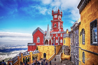 "Sintra, Portugal. 4th place for the day in ""Buildings and Architecture"" on international website Pixoto."