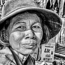 "Vietnam. 6th place for the day in ""Black and White"" category on international website Pixoto."