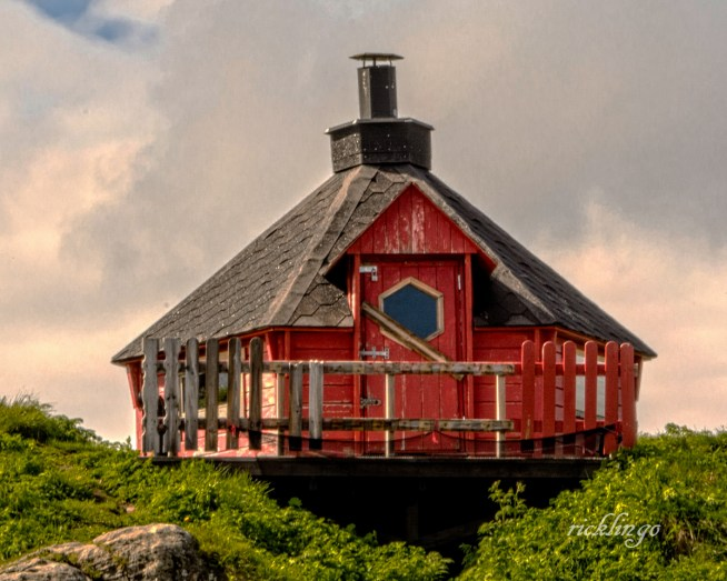 """Honningsvag, Norway. 4th place award for the day and 9th for the month in """"Buildings and Architecture"""" on international website Pixoto."""