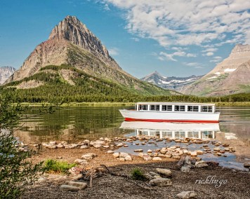 "Glacier National Park, Montana. 1st place for the day in ""Transportation"" on international website Pixoto."