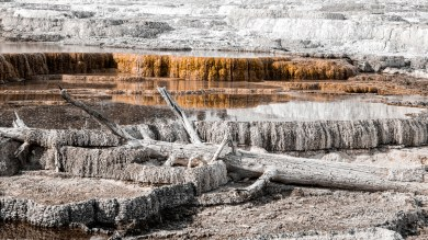 """Yellowstone National Park, Wyoming. 4th place for the day in """"Landscapes"""" on international website Pixoto."""