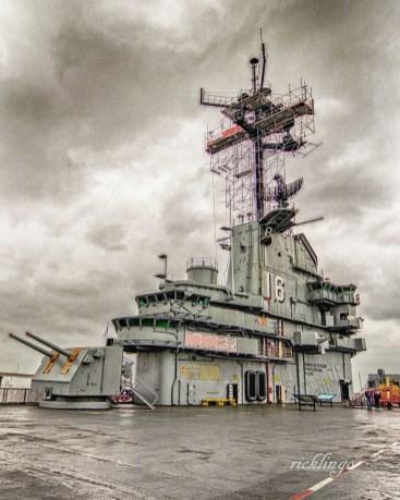 USS Lexington, Corpus Christi, Texas.