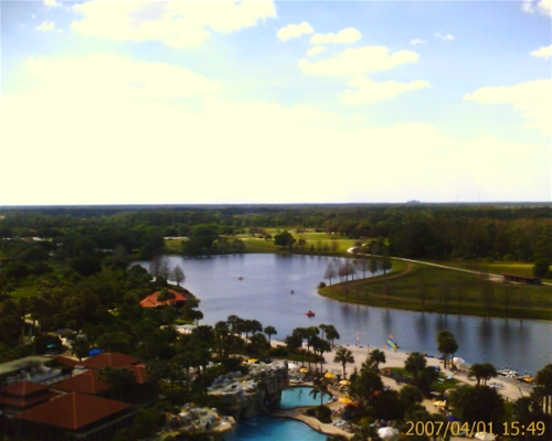 Hyatt Regency Grand Cypress - View from 10th Floor