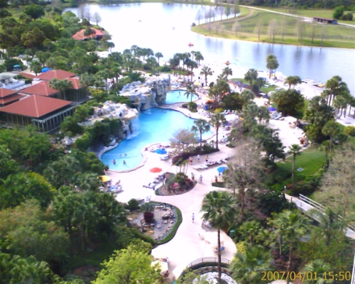 Hyatt Regency Grand Cypress - Pool View