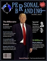 Personal Branding Magazine Cover - Volume 1 Issue 1