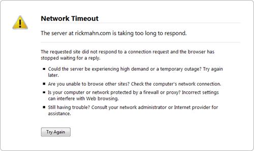 rickmahn.com-network-timeout
