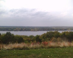 St. Croix River - Just south of Hudson, WI looking west to Minnesota