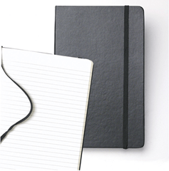 Moleskine Pocket Ruled Notebook - Black