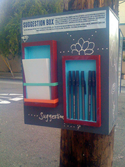 'Suggestion Box' by disrupsean