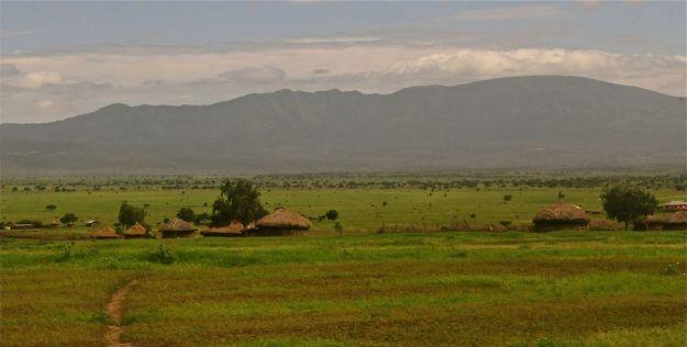 Maasai Village in Tanzania