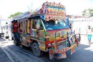Tap-Tap- Haitian Public Transportation