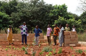 Dahlo, Ghana - Church Members Spend Years Building Their Church