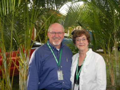 Rick McNary and Dr. June Henton