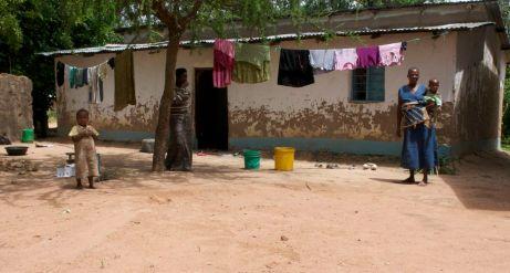 Family in Singida, Tanzania