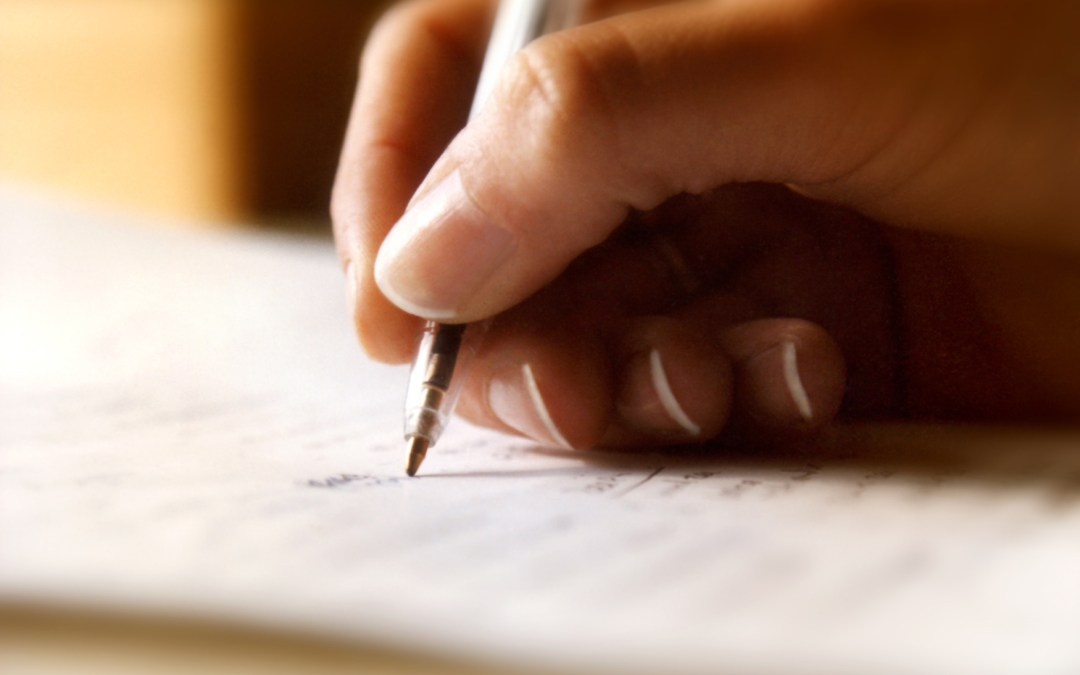 Writing Your Way Out of a Difficult Circumstance