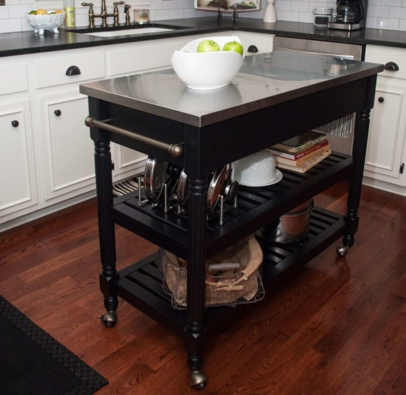 kitchen island with wheels worth to buy