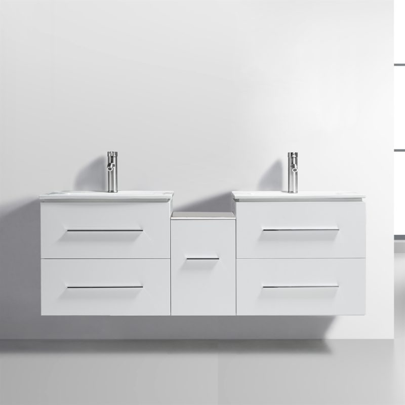 floating style bathroom vanities double sink