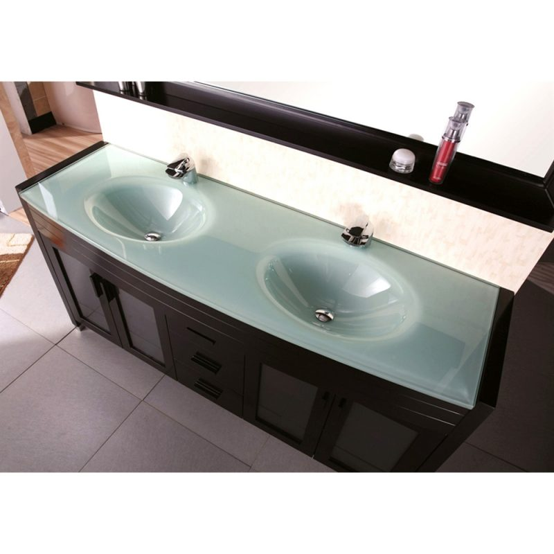 colored top bathroom vanities double sink