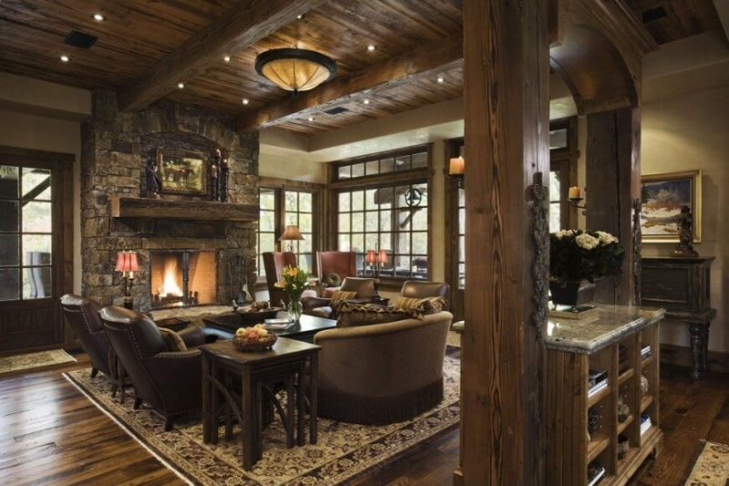 Another Classic Rustic Living Room Ideas