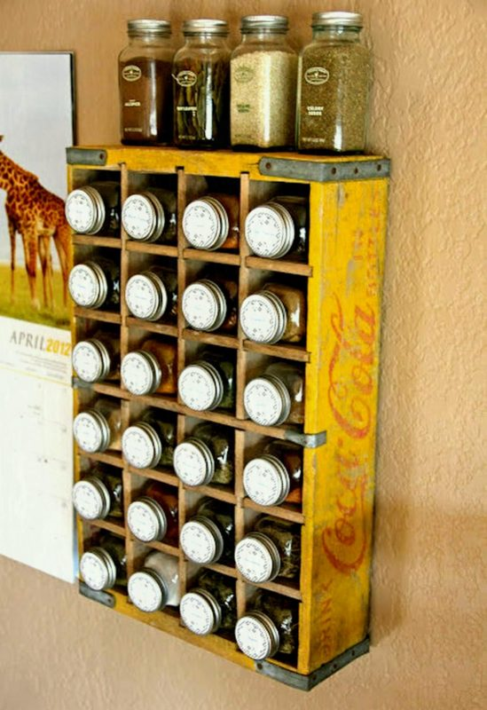 another DIY spice rack ideas
