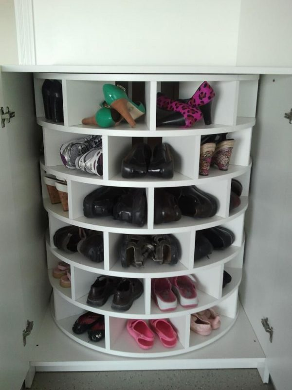 Spinning Shoe Rack Ideas