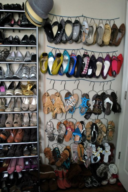 shoe rack ideas for those with lots of shoes
