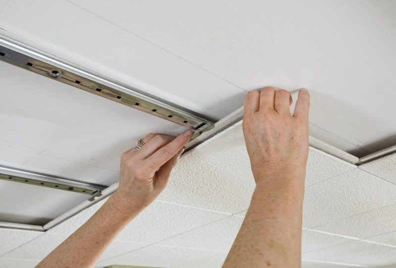 cheap unfinished basement ceiling ideas