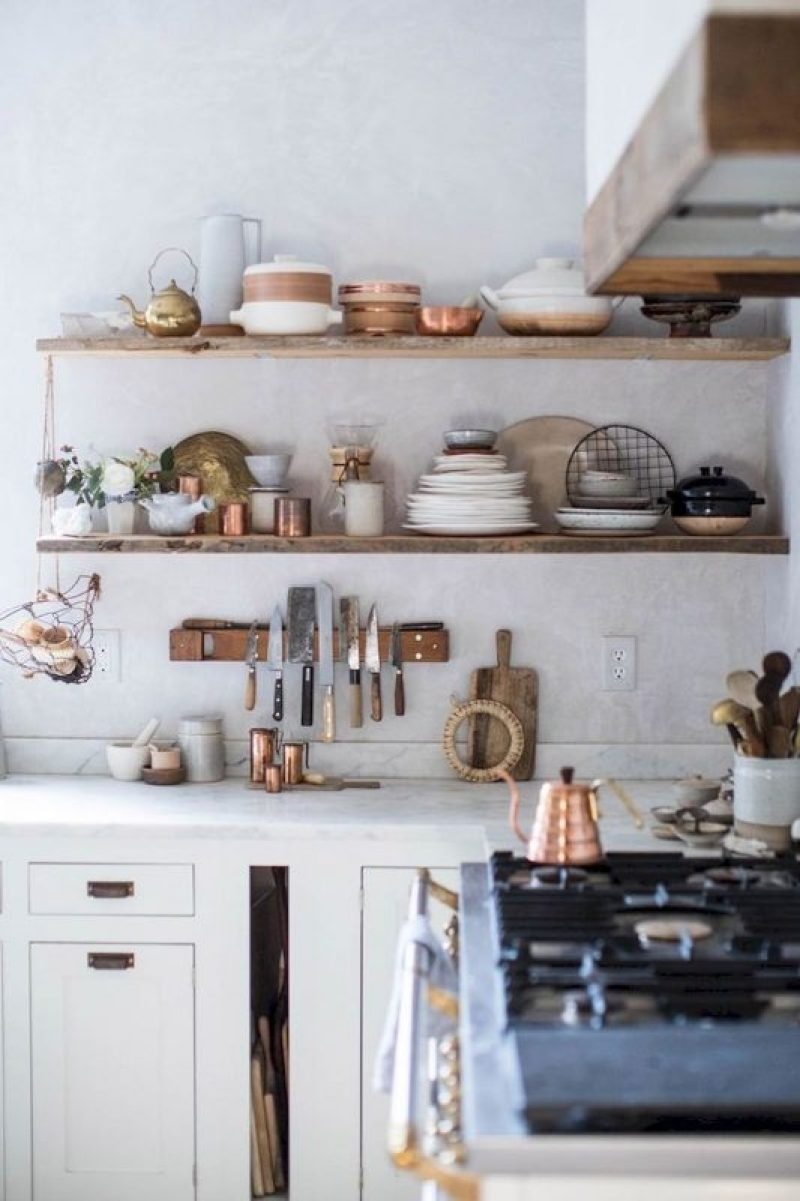 how to make a kitchen shelves