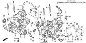 HELP!2012 CRF250X oil pump shaft bearings?  CRF250X