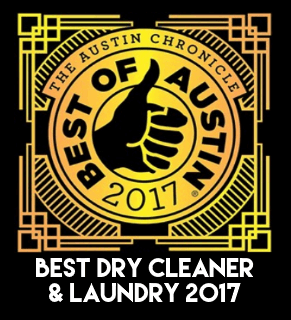 2017 Winner of Best of Austin Dry Cleaner & Laundry