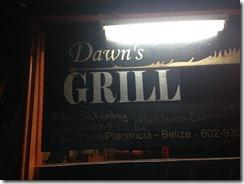 Dawns Grill